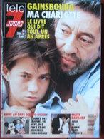 Télé 7 Jours N°1657 (6 Mars 1992) Gainsbourg - M Darc - Anne - R Devos - P Bouvard - A Soral - G Carreyrou - Fernsehen