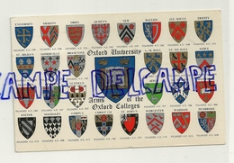 Royaume-Uni. Oxford University. Arms Of The Oxford Colleges 1977 - Ecoles