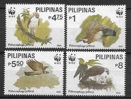 PHILIPPINES 1991 WWF Birds - W.W.F.