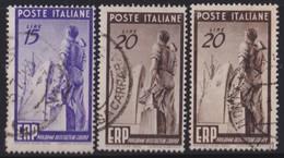 Italy       .   Yvert   .     540/541          .    O        .       Oblitéré   .    /    .   Cancelled - 1900-44 Vittorio Emanuele III