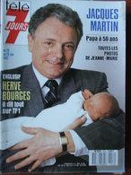 Télé 7 Jours N°1412 (20/26 Juin 1987) J Martin - H Bourges - J Bourin - D Gélin - E Ruggieri - S Leone - Fernsehen