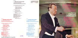 Superlimited Edition CD Yevgeni Svetlanov. RIMSKI-KORSAKOV. BORODIN. TCHAIKOVSKY. - Klassik