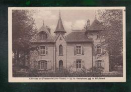 CP (87) Château De Fromental - France