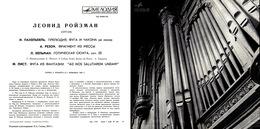 Superlimited Edition CD Leonid Roismann. PACHELBEL. RAISON BOELLMANN. LISZT. - Instrumental
