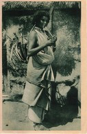 AFRICA ORIENTALE - DONNA DANCALA ETIOPIA - Etiopia