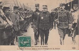 PARIS GARE De LYON Guerre WW1 Revue Troupes Départ MAROC Général ARCHINARD Colonel GOURAUD 27-28 Avril 1911 - Arrondissement: 12