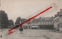 (Oise) Noyon - 60 - Place De La République (animée) écrite - Noyon