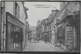 Bourgueil - La Rue Du Commerce - Le Grand-Pressigny