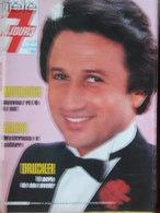 Télé 7 Jours N°1247 (21/27 Avril 1984) M Drucker - Mourousi - Garbo - D Boutboul - M Nègre - Fernsehen