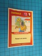 """1551-1575 : TRADING CARD 1991 JEU """"CANAILLES"""" PANINI / CHATOUILLE - PASSER UN SAVON - Altri"""