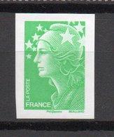 - FRANCE N° 4186d - (TVP) Vert Marianne De Beaujard 2008 - NON DENTELÉ - Cote 100 EUR - - France