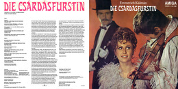 Superlimited Edition CD Heinz Rögner. KALMAN DIE CSARDASFÜRSTIN - Oper & Operette