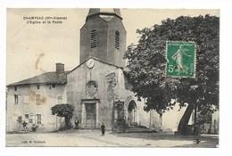 CHAMPSAC - Eglise Et Poste   / L79 - Frankreich