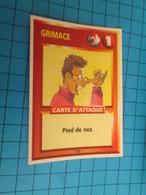 """1551-1575 : TRADING CARD 1991 JEU """"CANAILLES"""" PANINI / GRIMACE - PIED DE NEZ - Trading Cards"""