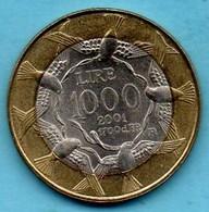 SAN MARINO / SAINT MARIN  1000 Lire 2001 Bimétal - San Marino