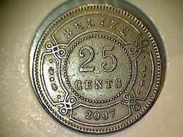 Belize 25 Cents 2007 - Belize