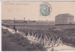 "CPA  ROYAN  17 : La Caserne Champlain  1906  Collection  ""V.Billaud"" - Royan"