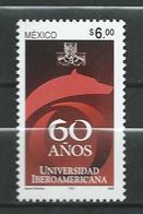 Mexico 2003 The 60th Anniversary Of Iberoamericana University, Mexico City.Education. MNH - Mexiko