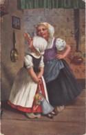 Illustrateur- Hollandaises Dans Cuisine (lot Pat 46) - Illustrateurs & Photographes