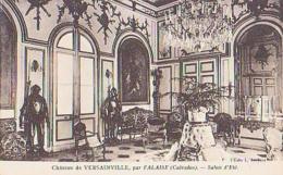 Calvados        1698        Château De Versainville.Salon D'été - France