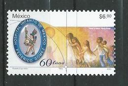 Mexico 2003 The 60th Anniversary Of Frederico Gomez Children's Hospital.Health.Medicine.Youth. MNH - Mexico