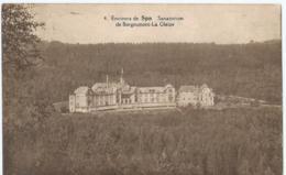 Environs De Spa - 4 - Sanatorium De Borgoumont-La Gleize - Photo Belge Lumière - Stoumont
