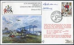 1980 GB RAF FF14 Royal Air Force Signed BFPS Cover. Croydon RAF Northolt - 1952-.... (Elizabeth II)
