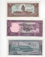 B30- CAMBODGE Lot De 3 Billets 1979 - Cambodia