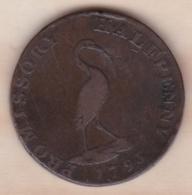 Halfpenny Token 1794, Promissory - Petersfield - Monnaies Régionales