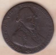 Halfpenny Token 1797, Viscount Jervis Portsmouth Portsea, Navire - Monnaies Régionales