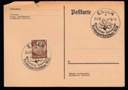 Deutsches Reich Postkarte Ungelaufen Sonderstempel 1938 Essen Lot 338D - Deutschland