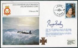 1981 GB RAF FF24 Royal Air Force Signed BFPS Cover. RAF HENDON LYNEHAM. ATC Air Training Corps - 1952-.... (Elizabeth II)