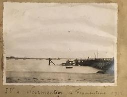 Noirmoutier De Fromentine. 1912. Jetée. Plage. Mer. Barre-de-Monts. Vendée. - Places