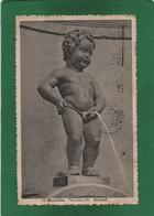 CPA, Belgique, Bruxelles,, MANNEKEN-PIS  Année 1934 N° 10 - Beroemde Personen