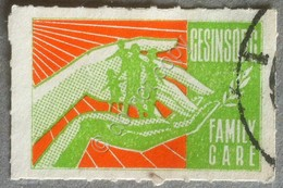 Erinnofilia - Family Care - Usato - Used - - Francobolli