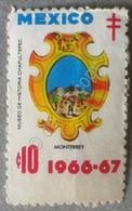 Erinnofilia - Messico Mexico 1966 - Pro Tubercolosi - Moterrey - Francobolli