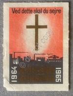 Erinnofilia - Danimarca 1965 - Kirkens Korshær - Ved Dette Skal Du Sejre - Francobolli