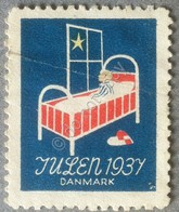 Erinnofilia - Danimarca 1937 - Julen - Natale - Francobolli