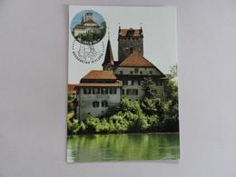 CARTE MAXIMUM CARD CHATEAU D'AARWANGEN SUISSE - Cartes-Maximum (CM)