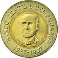 Monnaie, Équateur, 70th Anniversary - Central Bank1997, 500 Sucres, 1997, TTB - Equateur