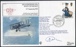 1982 GB RAF FF40 Royal Air Force Signed BFPS Cover. King's Cup Air Race, RAF FINNINGLEY - 1952-.... (Elizabeth II)
