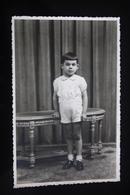 Little Boy - Old Original Photo  - Childhood - Little Boy 1940s - Personnes Anonymes