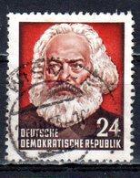 DDR 1953 Mi. 349 Marx Gestempelt (pü2766) - DDR