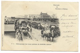 Cirque BARNUM & BAILEY - Déchargement Des Trains Spéciaux...1902  Animé - Circus