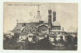 PADOVA - CHIESA DI S.ANTONIO VISTA DAI BASTIONI    VIAGGIATA FP - Padova (Padua)