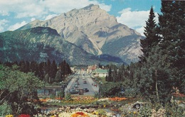 BANFF PICTURESQUE BANFF AVENUE WITH CASCADE MOUNTAIN    AUTENTICA 100% - Banff