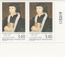 FRANCE 1992 N°2746** MARGUERITE D'ANGOULEME LA PAIRE BDF - France