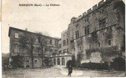 ARAMON .... LE CHATEAU - Aramon