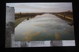 Moldova / Transnistria (PRIDNESTROVIE). Bendery . Dniestr River -  Modern Postcard - Moldavie