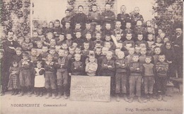 """Noordschotte """"gemeenteschool"""" 1908 - Belgique"""
